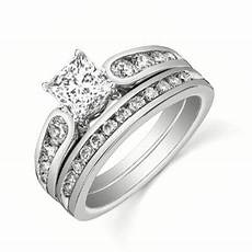 affordable diamond bridal set on jeenjewels
