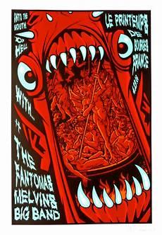the fantomas poster w the melvins big band 2006 concert