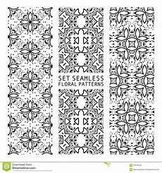 Arabische Muster Malvorlagen Quiz Set Of Arabic Seamless Patterns Stock Illustration