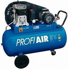 Druckluft Kompressor 100l - kompressor profiair 400 10 100 freytool