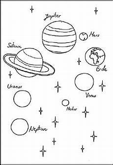 planeten kleurplaat jupiter kinder mandalas weltraum