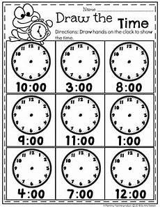 telling time by the hour worksheets for kindergarten 3602 money worksheets planning playtime