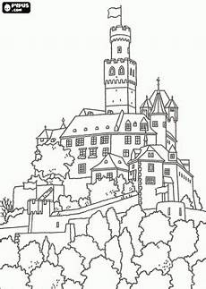 Malvorlagen Einfach Und Schnell Malvorlagen Sch 246 Nen Schloss Und Palast Komplett Ummauerte