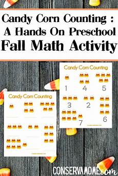 worksheets for counting numbers 8017 corn counting a on preschool fall math activity math activities fall preschool