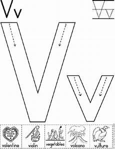 letter v tracing worksheets for preschool 23658 alphabet letter v worksheet standard block font preschool printable activity alphabet