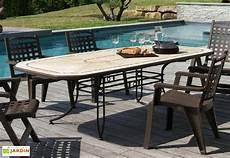 grosfillex salon de jardin amalfi bronze 8 fauteuils