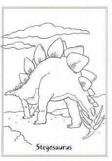 malvorlage dinosaurier 2 stegosaurus malvorlage