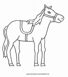 ausmalbilder pferd tiere zum ausmalen malvorlagen