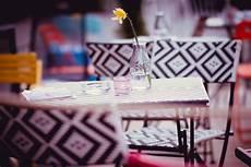ristorante il gabbiano viareggio yellow flower in clear glass vase 183 free stock photo