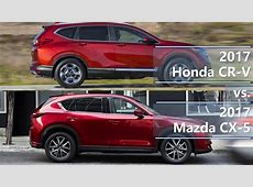 2017 Honda CR V vs. 2017 Mazda CX 5 (technical comparison