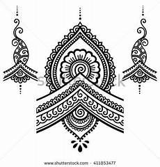 henna flower template mehndi hennas henna