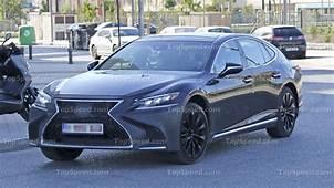 2019 Lexus LS F  Top Speed