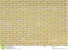 wall of small light yellow bricks the texture of the brickwork stock image image of