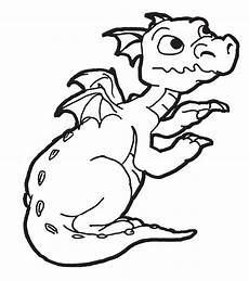 ausmalbilder drachen baby ausmalbilder drache bild ein baby drache