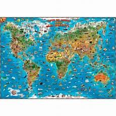 carte du monde fnac carte du monde pour enfants dino maps broch 233 collectif