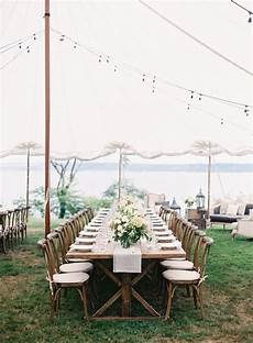 chic backyard wedding in washington once wed