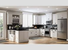Shaker Pantry Cabinets in White ? Kitchen ? The Home Depot