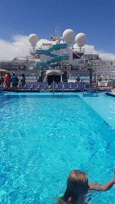 pool spa fitness carnival freedom cruise ship cruise critic