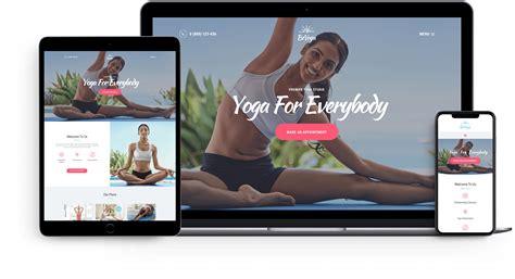 beyoga v1 1 1 yogastudio gym wordpress theme