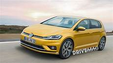vw golf mk 8 rendering can t be far actual model due