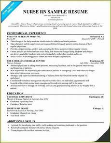 exle of registered nurse resume australia resume