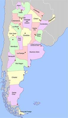 de argentina file argentina mapa de las provincias svg wikimedia commons