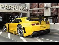Camaro ALMS Gelb Hintergrundbilder  Frei