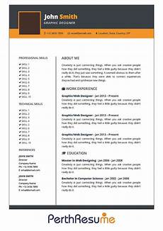 perth resume professional resume cover letter writing service provider