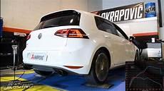 Volkswagen Golf Mk7 Gti Akrapovic