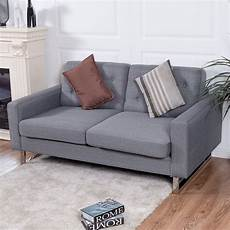 seat and sofas giantex 2 seat sofa home office modern loveseat