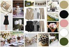 my inspiration board and wedding colors burlap black blush pink white lace moss green