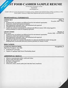 fast food cashier resume sle resumecompanion com resume sles across all industries