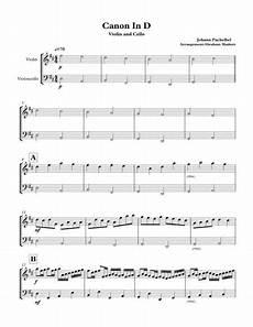 canon in d violin cello duet by johann pachelbel 1653