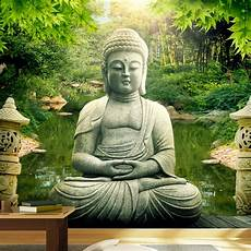 bilder buddha wallpaper buddha s garden 3d wallpaper murals uk