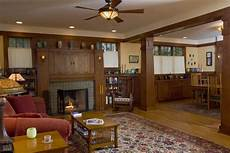 New Build Home Decor Ideas by New Build Craftsman Bungalow Living Room Fireplace