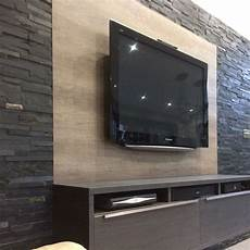 tv wand schiefer lynne s tv feature wall split tiles walls and floors
