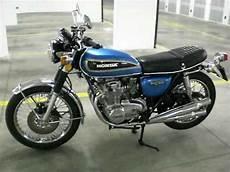 Honda Cb 500 Four K2 Blue 1973