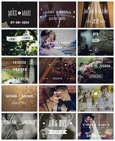 after effects project files wedding typography titles dates and names videohive wedding