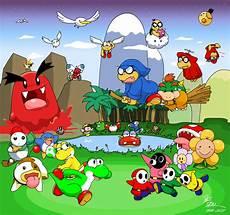 Malvorlagen Mario Und Yoshi Island Mario World 2 Yoshi S Island Tinted Reset