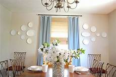 dining room plate wall diy show off diy decorating and home improvement blogdiy show off