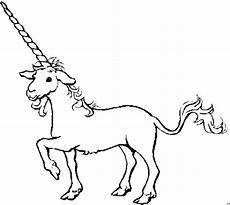 einhorn mit riesigem horn ausmalbild malvorlage einhorn