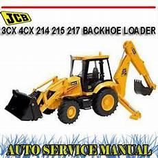 jcb 3cx 4cx 214 215 217 backhoe loader tractor workshop
