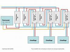 branchement thermostat chauffage electrique schema branchement thermostat radiateur electrique