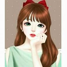 33 Foto Wanita Cantik Kartun Kumpulan Gambar Kartun