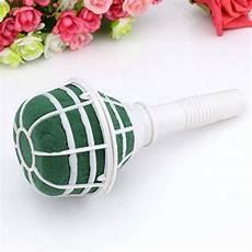 1pcs diy dried flower bouquet holder bridal floral foam flower holder bouquet handle christmas