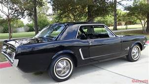 1964 1/2 Ford Mustang Convertible Black On 260 V8