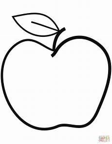 Malvorlage Apfel Mit Blatt Ausmalbild Apfel 20 Ausmalbilder Kostenlos Zum Ausdrucken