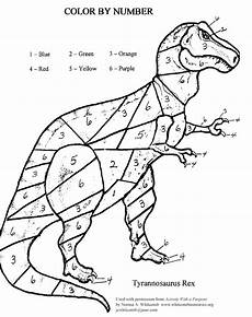 dinosaurs coloring by numbers worksheets 15350 color by number dino answers in genesis