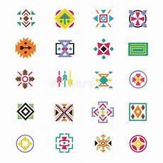 Indianische Muster Malvorlagen Musik Indianische Traditionelle Muster Stock Abbildung