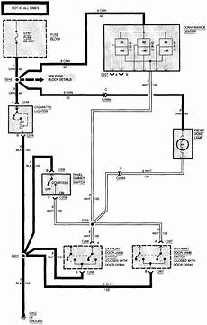 94 S10 Wiring Schematic by Interior Lights On My 1994 Gmc Are Not Working